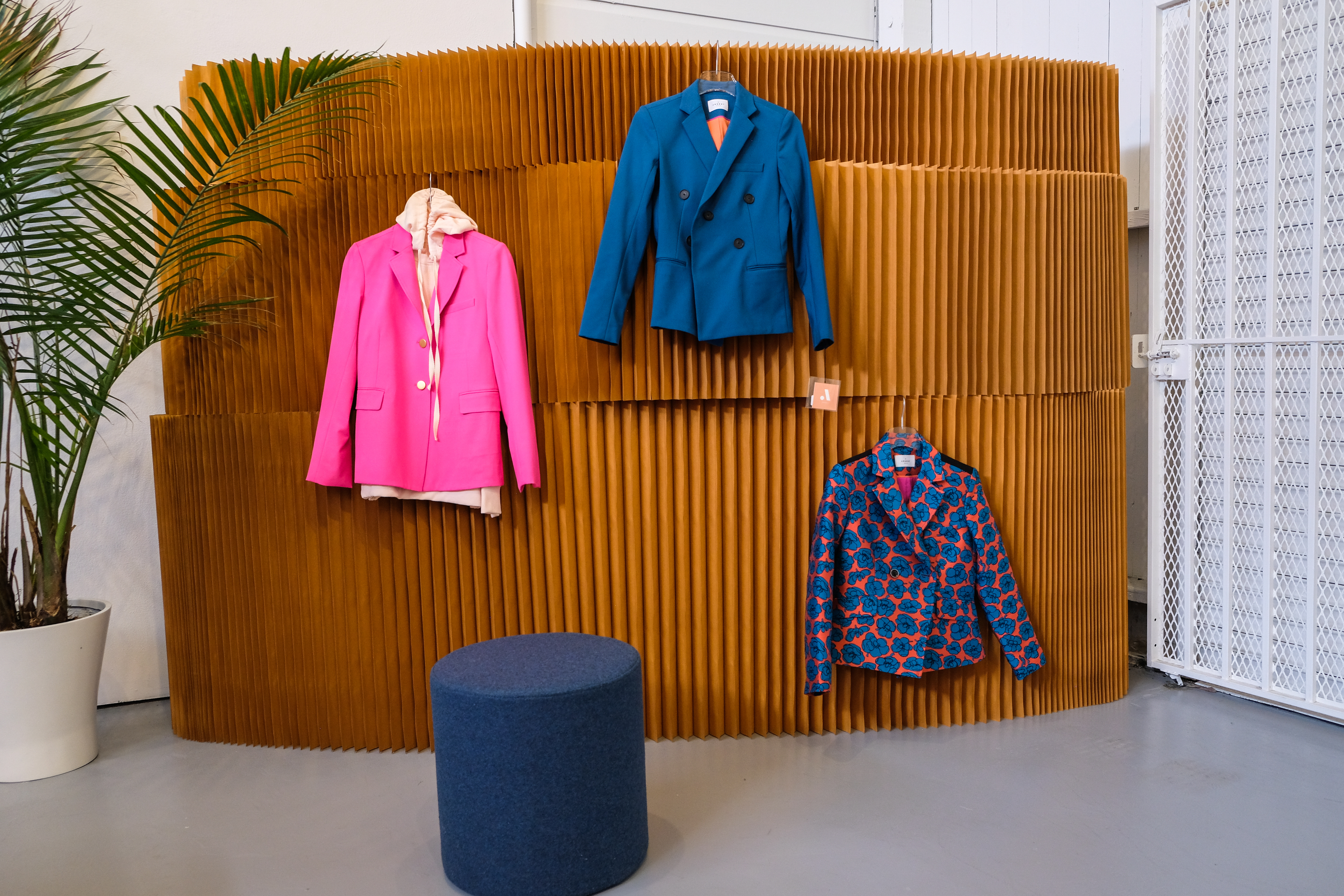 Functional women's suits by Argent