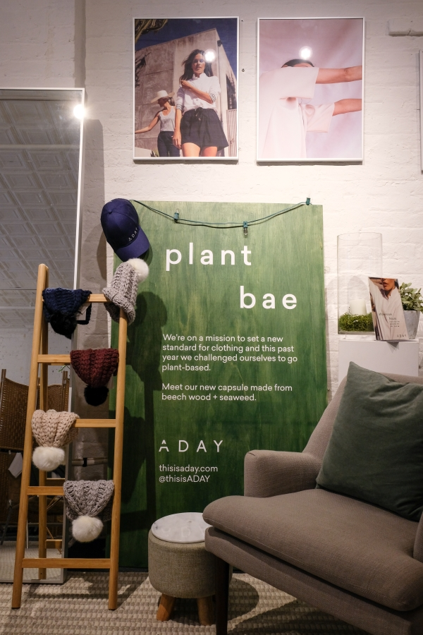 ADAY Showroom in New York City on 264 Canal Street