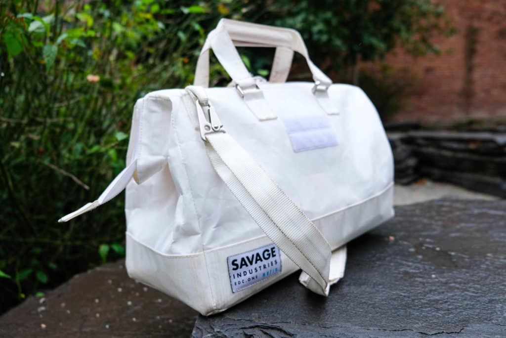 mafia bags collaboration with adam savage