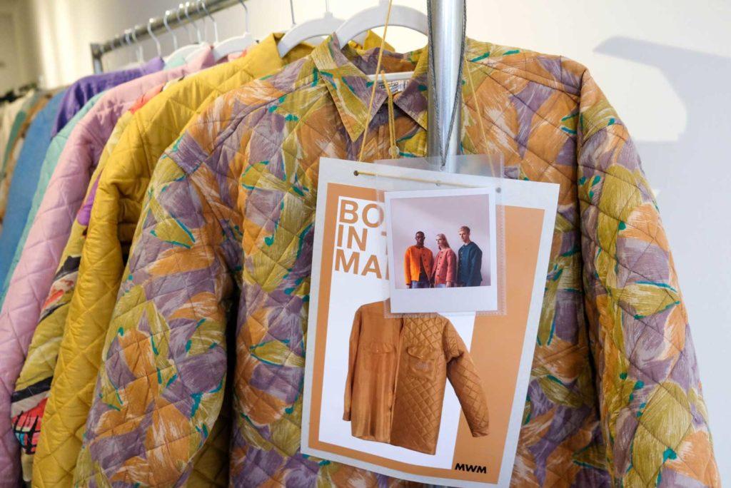 upcycled bold floral jacket by masha maria