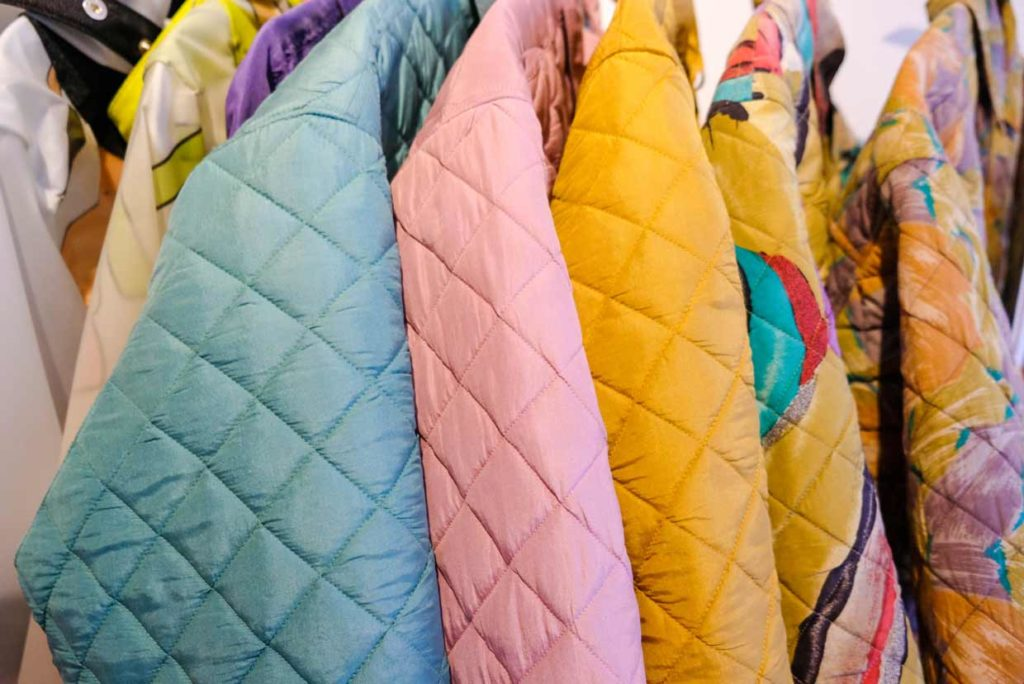 upcycled quilted jacket collection by masha maria