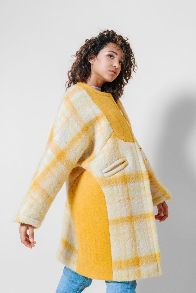 masha maria batwing coat